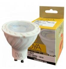 10 lampadina led GU10 6W Intec luce calda naturale e fredda