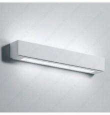 Applique in gesso di forma rettangolare 3 x E14 tripla luce CSF529