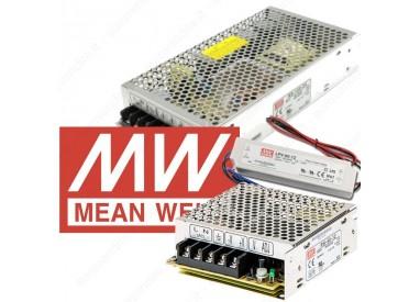 alimentatore 12v mean well per strisce led in metallo corrente costante