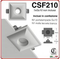 PORTA FARETTO IN GESSO CERAMICO CON EFFETTO SCALINI NEL FORO CSF210