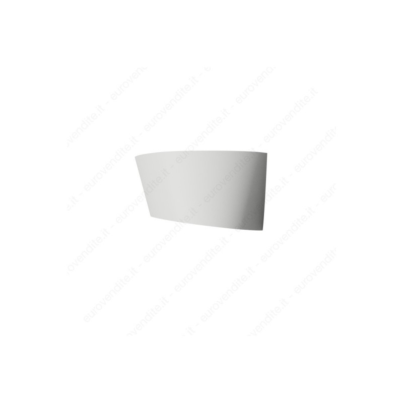 Applique in gesso ceramico a muro decorativo a led 2XE27 CSF400