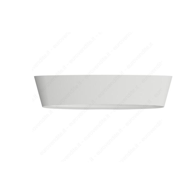 Applique in gesso ceramico decorativo a led 2XE27 CSF400