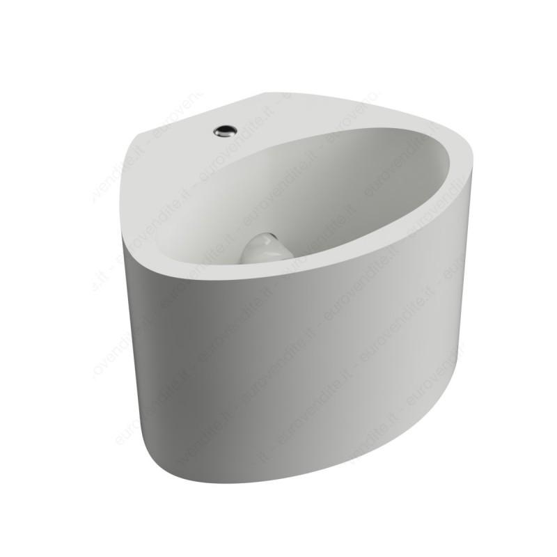 Applique in gesso moderno di forma ovale up & down CSF115