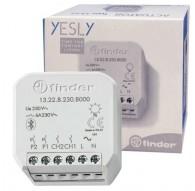 Finder YESLY 2 canali Attuatore interruttore Grigio L'attuator 13.22.8.230.B000