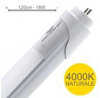 TUBI LED 120CM 4500K SOSTITUZIONE VECCHIO NEON LUCE NATURALE 18W