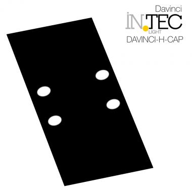 Tappo di chiusura per binario elettrificato sistema Davinci H-CAP