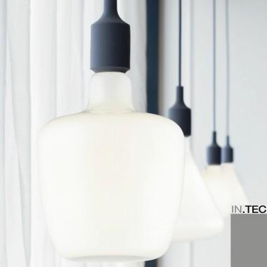 Lampadine led a filamento in vetro bianco in stile vintage