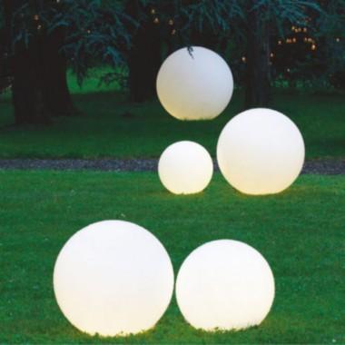 Intec Light lampada da giardino Geco LED sfera IP65 attacco 1xE27