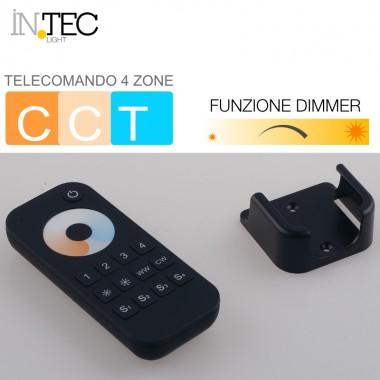 TELECOMANDO PER STRIP LED CCT TRITONO CON 4 ZONE