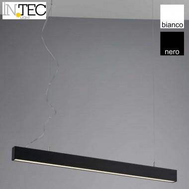 Barra plafoniera a sospensione in alluminio luce led naturale
