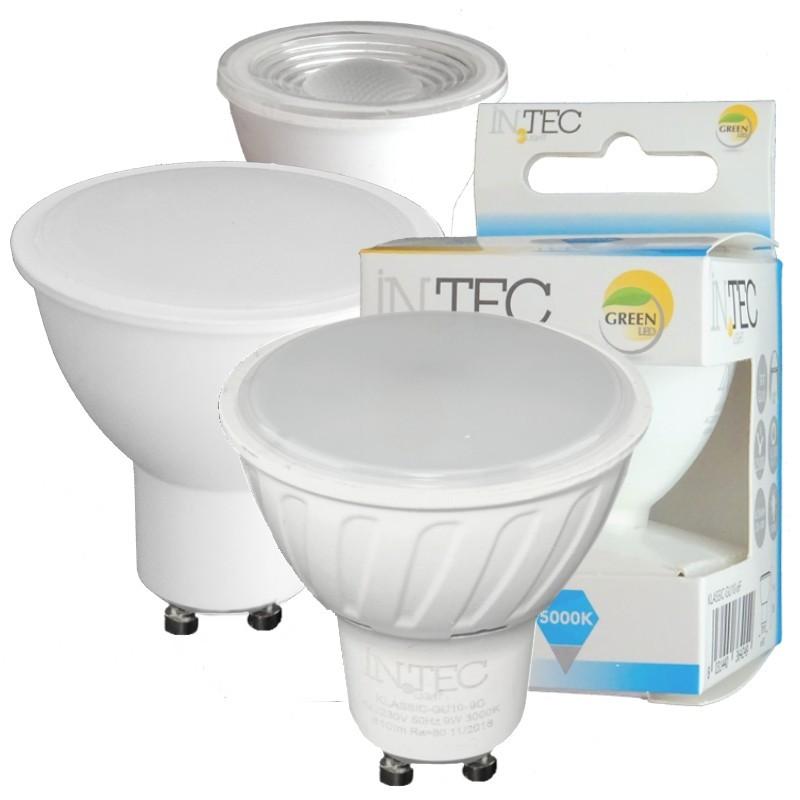 LAMPADINE LED INTEC Gu10 da 3W a 9W dimmerabili Rgb INTEC